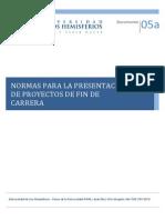 5a_Normas_Presentacion_ProyectosFinCarrera.pdf