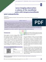 Magnetic Resonance Imaging Observation