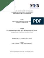 Ensayo EL CONOCIMIENTO DEL GRUPO ESCOLAR, COMO CONDICIÓN PARA EL DESARROLLO DE UN ENFOQUE CONSTRUCTIVISTA.pdf