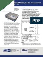 ET80 DS Encrypted Video Transmitter