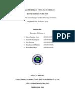 Laporan Praktikum Fisiologi Tumbuhan (Respirasi )