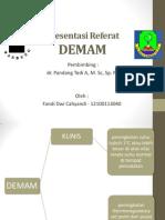 Presentasi Referat Demam