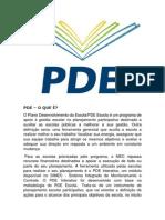 O Plano Desenvolvimento da Escola.docx