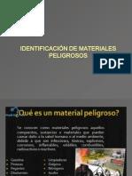 IDENTIFICACION DE MATERIALES PELIGROSOS 2.ppt
