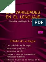 variedad en el lenguaje.ppt
