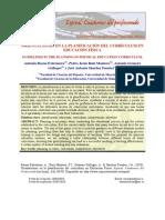 ORIENTACIONES EN LA PLANIFICACIÓN DEL CURRÍCULUM EN EDUCACIÓN FÍSICA