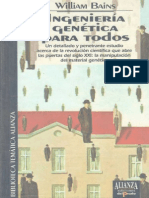 Ingenieria genética para todos