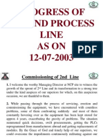 2nd Line Presentation Dated 12-07-2003