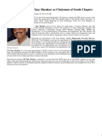 MAIT Appoints SR Vijay Shankar as Chairman of South Chapter