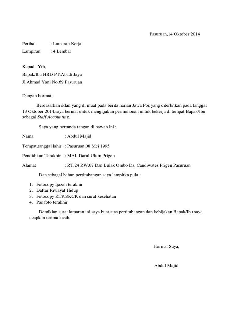 Surat Lamaransemi Block Stylepdf