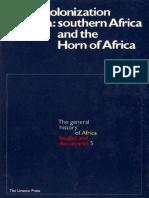 African Decolonization-South & Horn UNESCO 1978