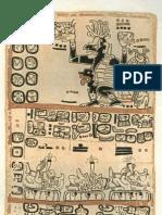Mayan Codex - Madrid Codex 4 of 6