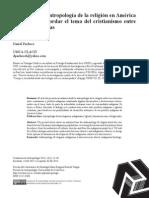 Daniel Pacheco - Desafíos de la antropología de la religión para abordar el cristianismo en América Latina.pdf
