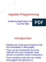 Applets Programming
