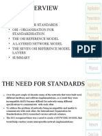 The Need for Standards general