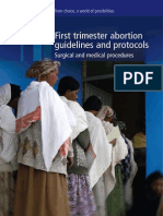 IPPF First Trimester Abortion Guidelines and Protocols