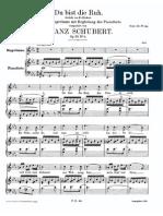 Schubert_Du Bist Ruh