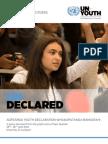 Aotearoa Youth Declaration 2014