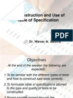 Test Strategies- Test Construction(Olivares)