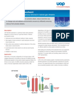 UOP GB 562 Adsorbent Data Sheet