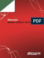 Manuale ADSL2 Wi Fi N Technicolor
