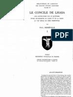 Paul Demieville, Le Concile de Lhasa