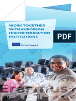 Work Together With European Higher Education Institutions