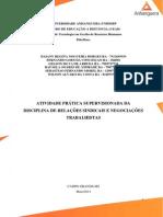 ATPS RELAÇÕES SINDICAIS E NEGOCIAÇÕES TRABALHISTAS.docx