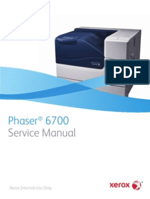 Phaser 6700_Service manual pdf | Computer Hardware | Media Technology