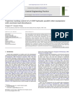 Trajectory tracking control of a 6-DOF hydraulic parallel robot manipulator with uncertain load disturbances.pdf