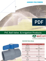 RPVC Ball Valve manufacturers in Ahmedabad - ASHOK Polymers