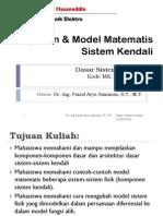 1 - Model Sistem Kendali
