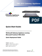 Winfrasoft TMG Gateway Appliance Quick Start Guide 1.2.pdf