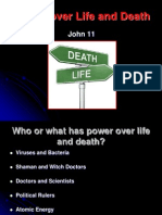 John 11 Power over Life & Death (Lewis).ppt