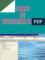 LSMW by Recording Method