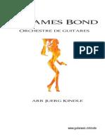 007 James Bond Arrangement