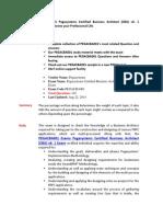 Pegacba001 Free PDF Demo