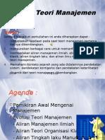 Bab-2 Evolusi Teori Manajemen