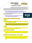APA Format–6th Edition