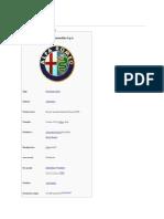 History of Alfa Romio