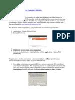 Cara Burning File ISO Ke Flashdisk