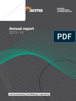 Australian Communications and Media Authority annual report