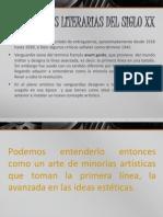 Vanguardias Literarias Sg. XX