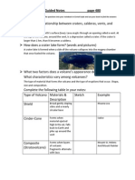 types of volcanoes guided notes1