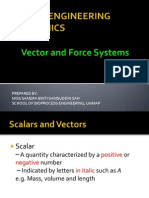 Wk 2 & 3 Vector Force Systems