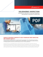 Solidworks Inspection Data Sheet