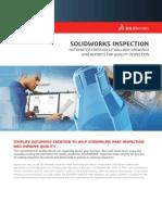 Solidworks Inspection Data Sheet