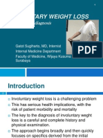 Involuntary Weight Loss (GSH)
