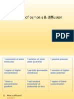 SCG - Osmosis and Diffusion