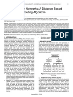 Wireless Sensor Networks a Distance Based Energy Aware Routing Algorithm